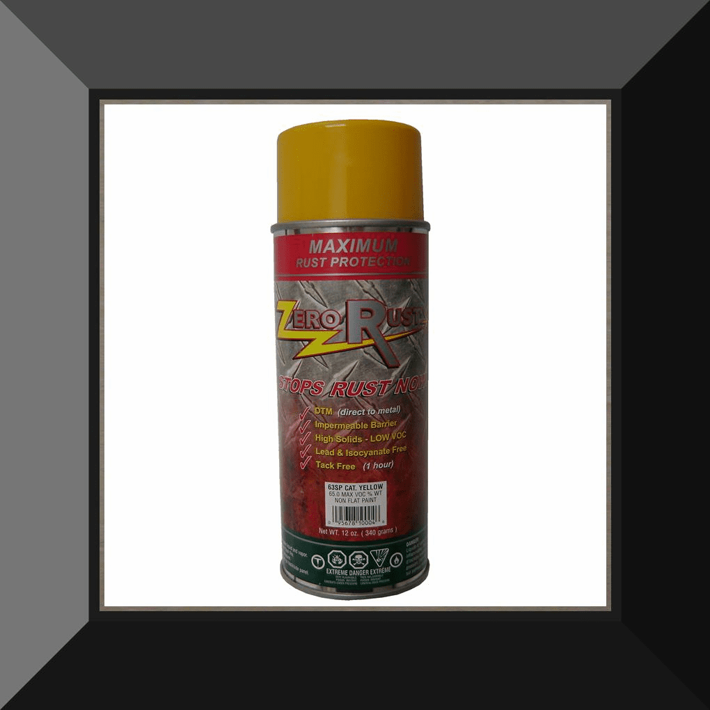 ZRO-63SP Zero Rust Cat Yellow Aerosol