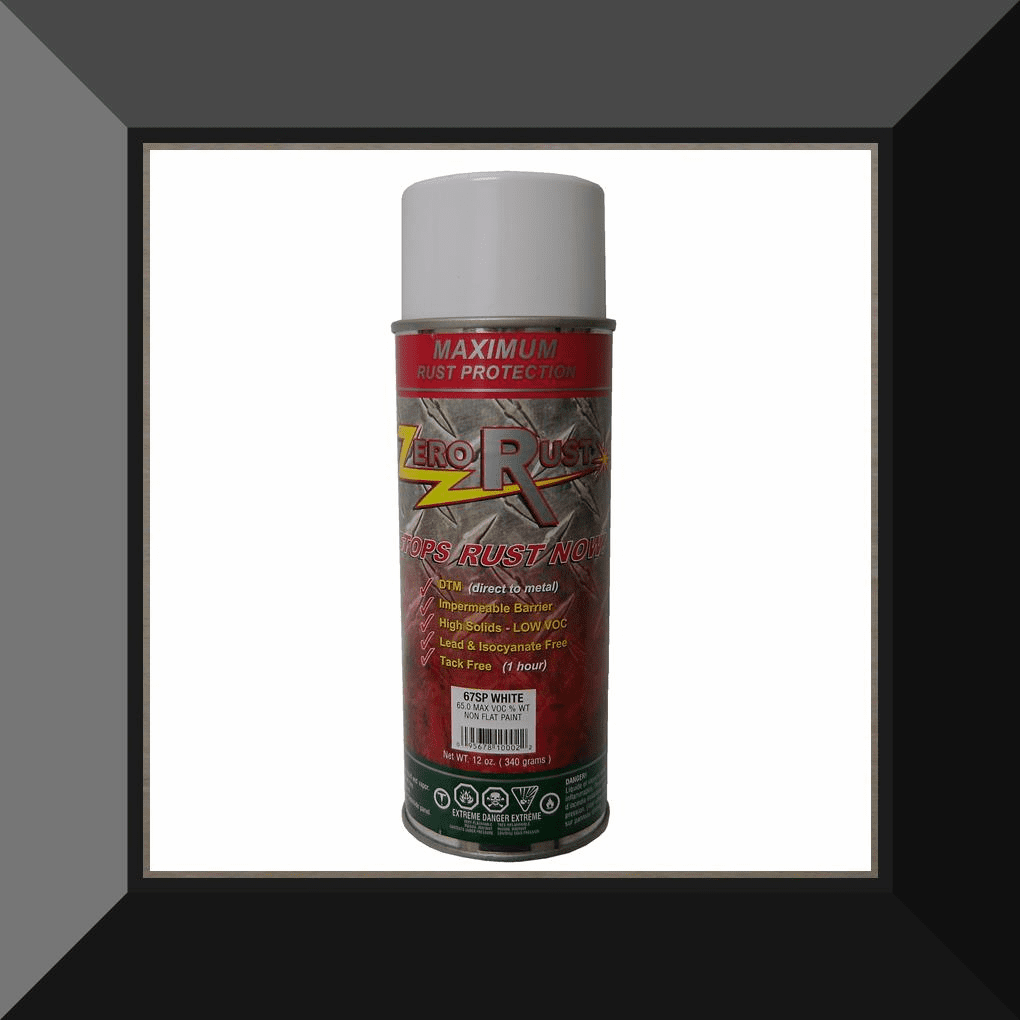 ZRO-67SP Zero Rust White Aerosol