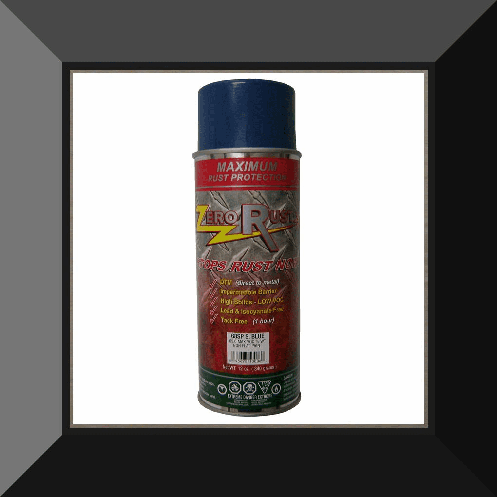 ZRO-68SP Zero Rust Safety Blue Aerosol