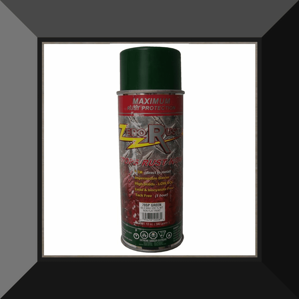 ZRO-70SP Zero Rust Tide Green Aerosol