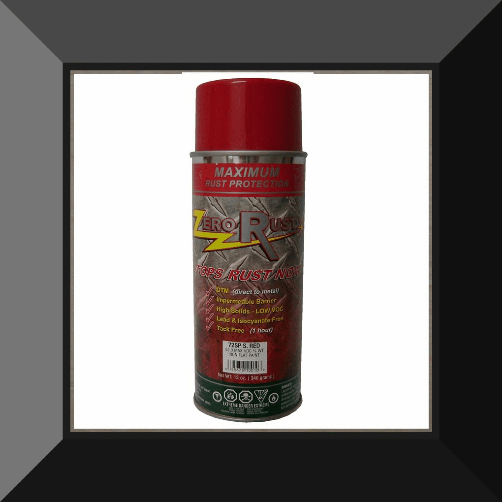 ZRO-72SP Zero Rust Safety Red Aerosol