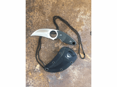 Necro Knife Karambit Neck Knife