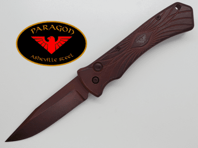 Paragon ERT Emergency Response Team Automatic Knife Distressed
