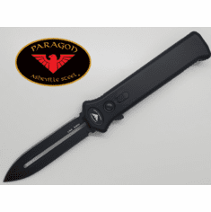 "Paragon PARA-XD OTF Automatic Knife (3.5"" Black Plain)"