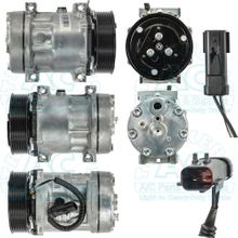 Sanden Compressor - Aftermarket SD7H15 - Dodge Trucks
