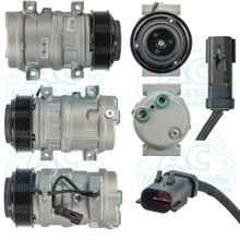 Compressor w/clutch Aftermarket OEM Number: 55111411AH - Dodge Trucks