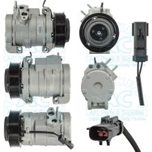 Compressor w/clutch Aftermarket OEM #: RL111444AB - Dodge Trucks