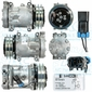 Sanden Compressor - Genuine - Manufacturer #: 4699 - Volvo Trucks