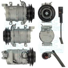 DKS15D Compressor with clutch OEM #: 8-98109-570-1