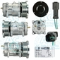 Sanden Compressor - Genuine Manufacturer #: 4487