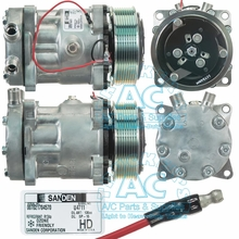 Sanden Compressor - Genuine OEM #: 4711-Substitute for 4660