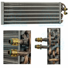 A/C Evaporator OEM #: RD 2-1195-0 Red Dot Unit Applications