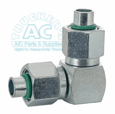 A/C Fitting #8 x #8 adapter 90�