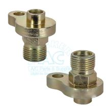 "A/C Hose Fitting 1/2"" #8"