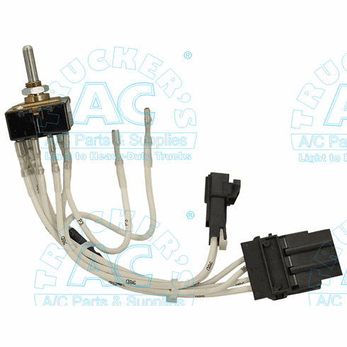 """Blower Switch Freightliner OEM# BOA80-928-01-029 - REPLACED - by Item #:<a href=""""https://truckerac.com/blswkit.html"""">11-0635A</a>"""