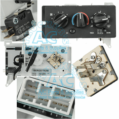 Blower: Toggle, Rotary, Rocker Switches