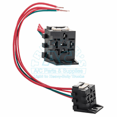 Clutch Relay Connector & Wires/Carrier AC