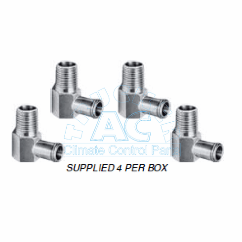 """Elbow Hex Base  5/8"""" Hose x 1/2"""" Male Pipe"""
