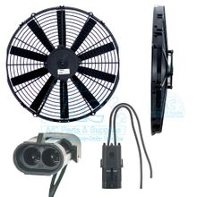 Electric Cooling Fan Assy OEM #: RD-5-8785-2, RD-5-8785-4 - Multi Fit