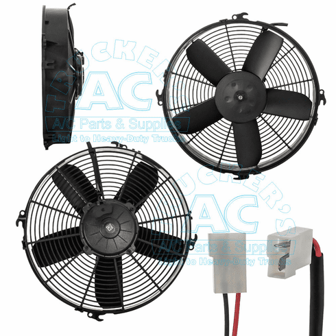 Electric Cooling Fan Assy OEM #: RD5-13259-2 - Red Dot