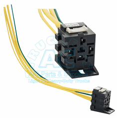 Med.Speed Relay Connector & Wires/Carrier AC