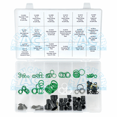 O-Ring & Gasket Master Shop Kit R12/R134A Compatible