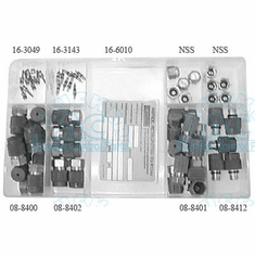 R134a Steel RetroFit Starter Assortment
