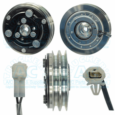 Sanden SD5 Clutch 125mm 2gr 12v - 2 Wire Ford Style