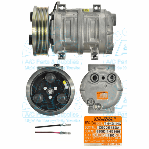 Seltec Compressor OEM# 488-47244 Farm & Off-Road