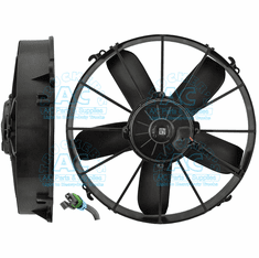 SPAL Cooling Fan Assembly OEM# VA01-BP70/LL-36S RD5-9076-3