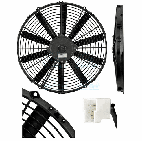 SPAL Cooling Fan Assembly OEM#  VA08-AP10/C-23S