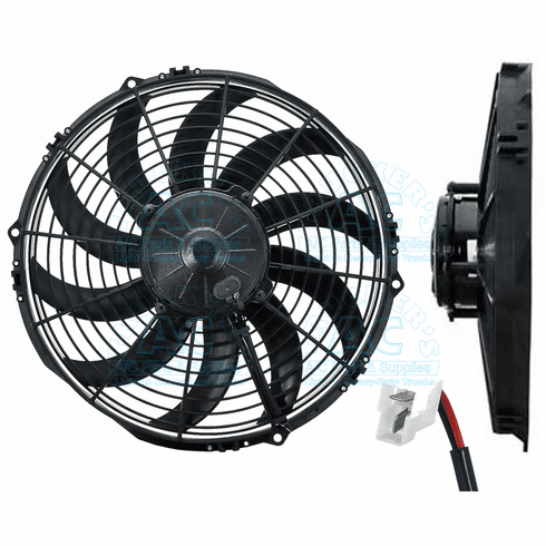 SPAL Cooling Fan Assembly OEM# VA10-AP6-61S VA10-AP70/LL-61S
