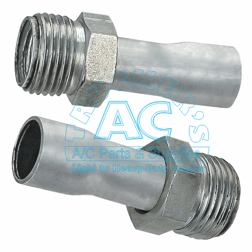 Weld-on Male Insert Oring Fitting #8 3/4''-16
