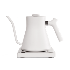FELLOW STAGG EKG POUR OVER ELECTRIC KETTLE MATTE WHITE .9L