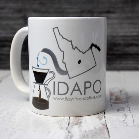 LIZZY'S GRAPHIC IDAPO MUG-11 OZ