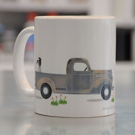 LIZZY'S GRAPHIC TRUCK MUG-11 OZ