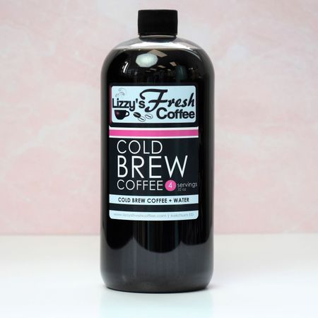 LIZZY'S COLD BREW COFFEE-32 OZ