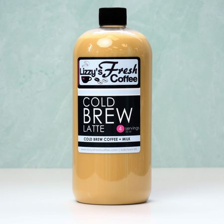 LIZZY'S COLD BREW LATTE (WHOLE MILK)-32 OZ