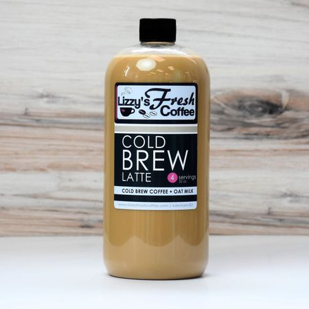 LIZZY'S COLD BREW LATTE (OAT MILK)-32 OZ