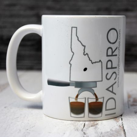 LIZZY'S GRAPHIC IDASPRO MUG-11 OZ