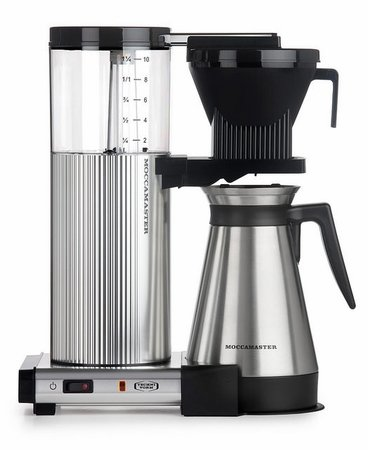 TECHNIVORM CDGT COFFEE MAKER POLISHED SILVER (89912)