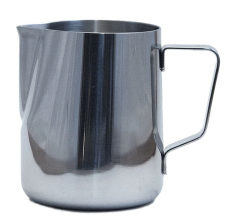 PITCHER STEAMING 20 OZ TAPERED SS (RV-08020)