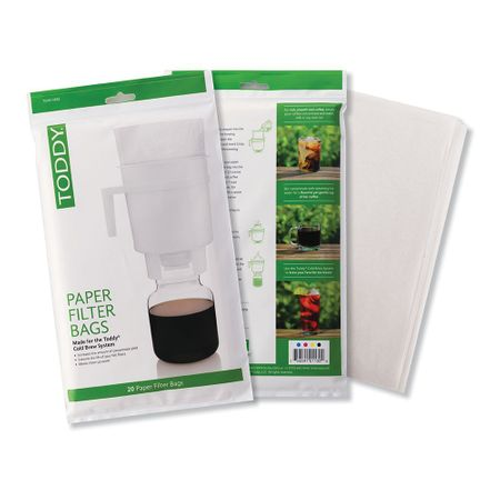 TODDY HOME PAPER FILTER 20 PACK (THMPF20)