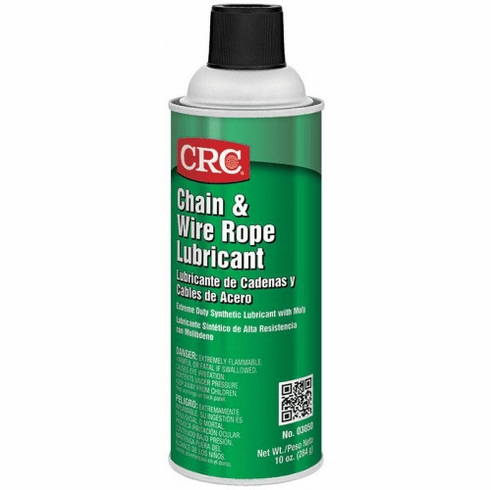 CHAIN AND WIRE ROPE LUBRICANT, 10 WT OZ (12 PER CASE)