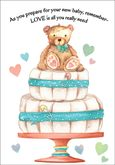 BA1608 - Baby Shower Cards