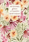 BU164 - Floral Birthday Cards