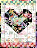 NM08 - Quilted Heart Note Card
