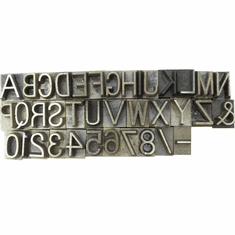 Concrete Stamps For Marking Letters Numbers Date Marks Logos