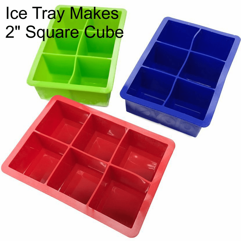 2 Inch Square Ice Tray