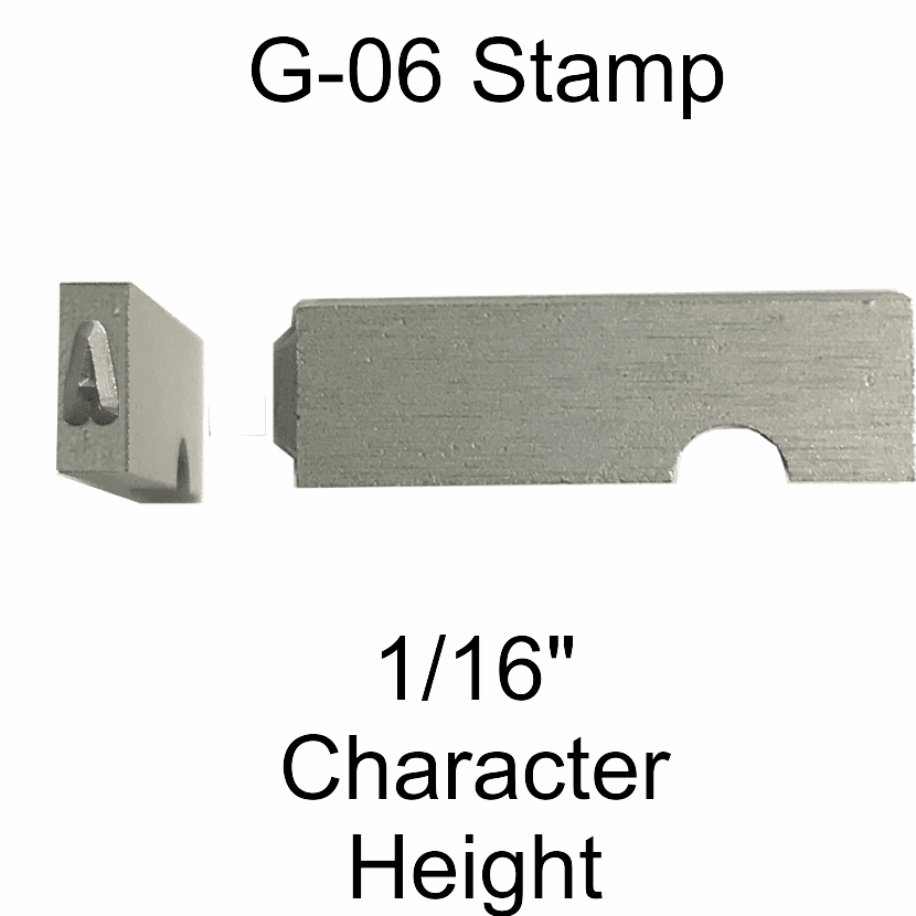 G-06 Style Steel Stamp